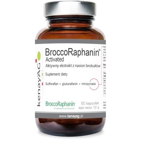 BROKUŁY NASIONA EKSTRAKT 10% BroccoRaphanin® 60 KAPSUŁEK