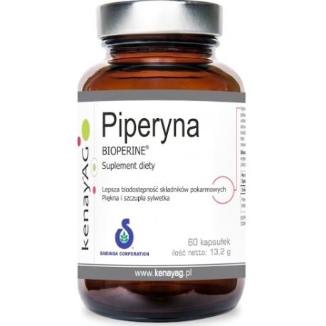 PIPERYNA PIPERIN 95% BIOPERINE® SABINSA®  10 mg 60 KAPSUŁEK
