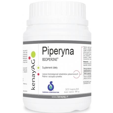 PIPERYNA PIPERIN 95% BIOPERINE® SABINSA®  10 mg 300 KAPSUŁEK