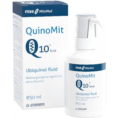 ENZMANN QUINOMIT® Q10 - UBICHINOL MSE 50 ML
