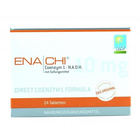 ENACHI Koenzym 1 - N.A.D.H. 10 mg  LIFE LIGHT  24 TABLETKI