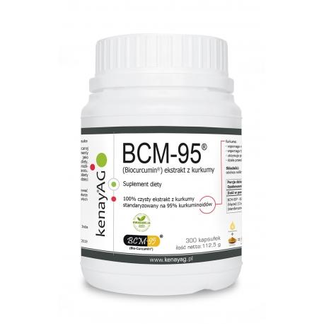 BCM-95® KURKUMA EKSTRAKT 95% KURKUMINA  375 MG 300 KAPSUŁEK