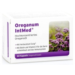 OREGANUM INTMED®-INTERCELL OLEJ Z OREGANO 60 KAPSUŁEK