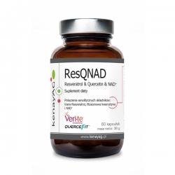 RESQNAD - RESVERATROL + KWERCETYNA NAD+ 60 Kapsułek