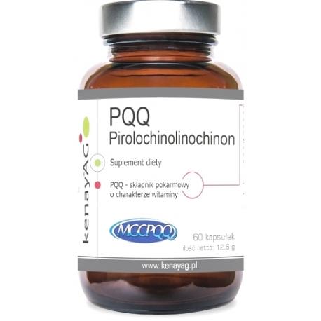 PQQ - MICROACTIVE (PIROLOCHINOLINOCHINON) 20 MG 60 KAPSUŁEK