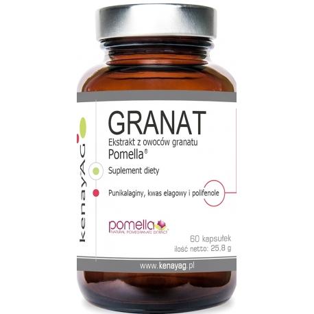 GRANAT POMELLA® - EKSTRAKT Z GRANATÓW 70% 430 mg 60 Kapsułek