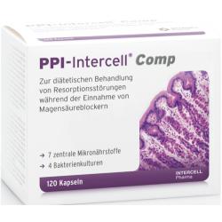 PPI-INTERCELL COMP - MAGNEZ WAPŃ CYNK B12 ŻELAZO 120 Kapsułek