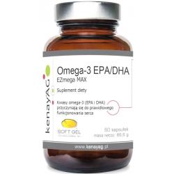 OMEGA-3 EPA 450 mg DHA 340 mg EZmega MAX SOFT GEL 60 KAPS