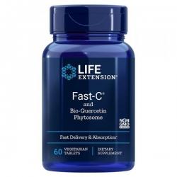 WITAMINA C Z DIHYDROKWERCETYNĄ Fast-C® Life Extension 60 kapsułek