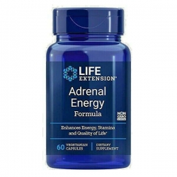 ADRENAL ENERGY FORMULA Life Extension 60 Kapsułek