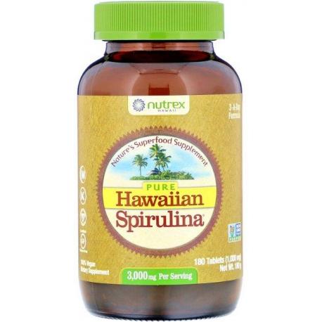 Spirulina Hawajska Pacifica Kenay 1000 mg, 180 tabl.