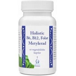 HOLISTIC METYLOWANE FORMY  B6, B12 I KWASU FOLIOWEGO 60 KAPS