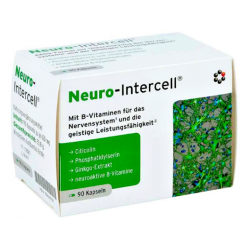 NEURO-INTERCELL® CYTYKOLINA FOSFATYDYLOSERYNA 90 KAPSUŁEK