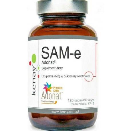 SAM-E ADONAT®  ADENOSYL-L-METHIONINE 450 MG 120 KAPSUŁEK