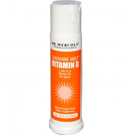 WITAMINA D - 1000 IU DR MERCOLA 25 ml  (spray)